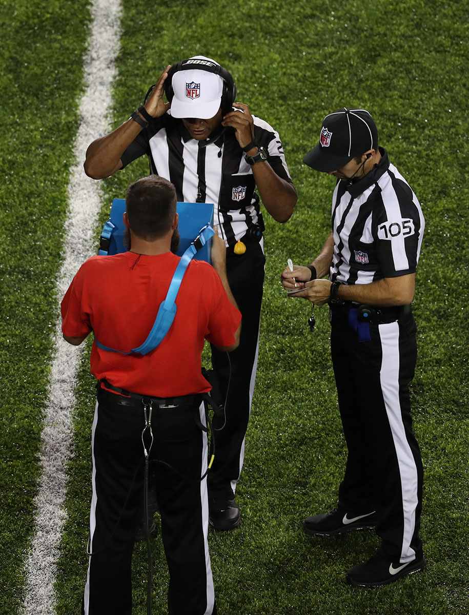 nfl replay standard of review